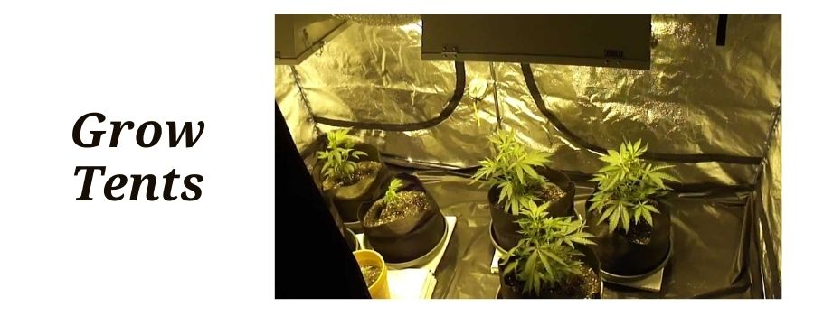 can police detect grow tents