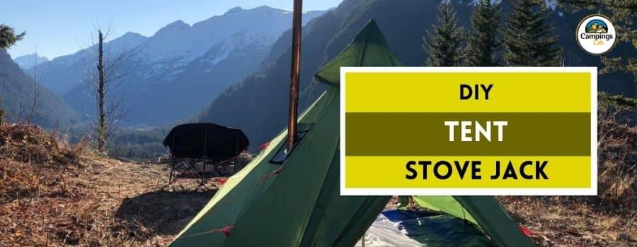 DIY tent stove jack